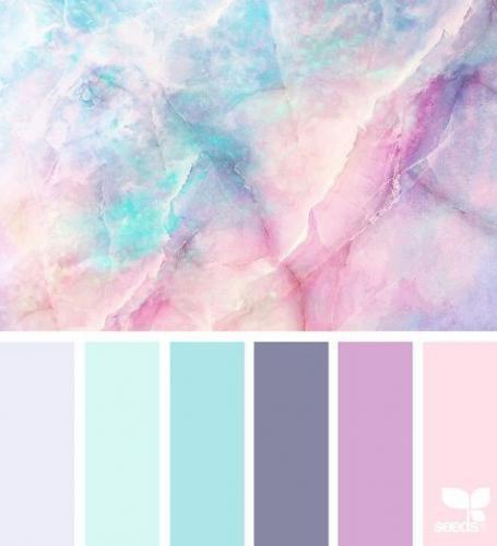 Pasztell színek a Nyár típusnak